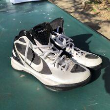 Men's Nike Zoom Hyperdunk TB 2011 Shoes 454 138 102, White/Black Size US 9