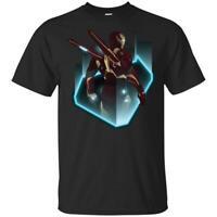 Iron Man Mark 85 T-shirt Marvel Avengers 4 End Game Tee Shirt Short Sleeve S-5XL