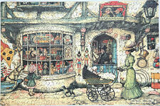 New Hand Cut Wooden Anton Pieck Toy Shop 380-piece Jigsaw Puzzle in plywood box