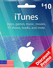 ITUNES CARD $10🔥 ITUNE USA/CA/EU APP STORE with instance delivery 🔥