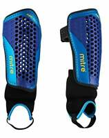 New Mitre Aircell Carbon Football Shinguard Shinpad w/ ankle protector Small (S)