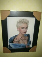 Madonna - Gorgeous Sexy Hand Signed Photograph (8x10) Framed With CoA