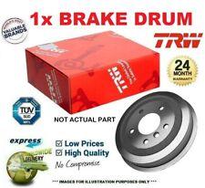 1x TRW BRAKE DRUM for FORD ESCORT Mk VII Convertible 1.6 16V XR3i 1995-1996