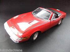 Ferrari 365 GTS  Rot    1:18 .. Solido Metall  ..#4734