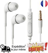 Ecouteurs kit piéton main libre micro volume pour Samsung Galaxy S7/6/5/4/Note 4