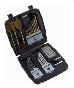 Bosch 45tlg. Titanium-Bohrer & Schrauber Set (Holz, Stein & Metall) 2607019514,