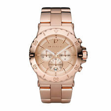 New Michael Kors MK5314 Rose Golden Chronograph  Designer Watch - UK Seller