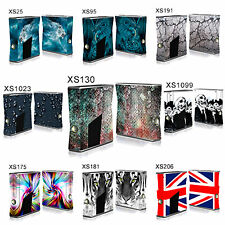 TaylorHe XBOX 360 Slim Vinyl Skin Sticker Decal Perfect Fit MADE IN UK