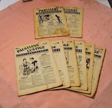 """Paustians """" Lustige Sprachzeitschrift """"   8 Exemplare /  1942 / 1943 /"""