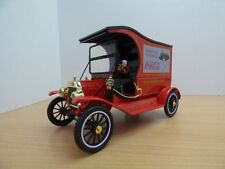 1917 Ford Model T Cargo Van Coca-cola Rojo Motor City 449804