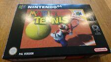 Mario Tennis Boxed - N64 Nintendo 64 Retro Game Cartridge PAL