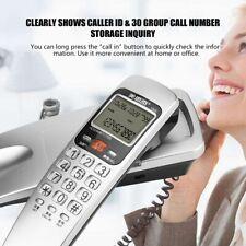 FSK/DTMF Caller ID Telephone Corded Phone Desk Landline Wall Mounted Telephone