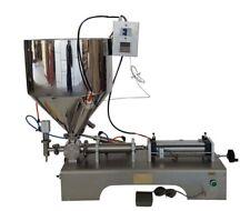 New listing Fast Ship 110V 10ml-300ml Paste&Liquid Heating Fillng Machine Updated