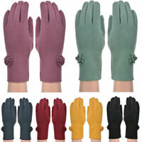 Ladies Gloves Fleece Winter Thermal Premium Quality Warm Soft Cosy Womens Glove