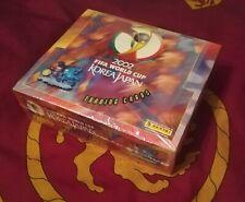 Panini 2002 FIFA World Cup Korea Japan - Trading Cards Sealed Box - Rare & Mint