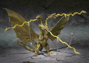 Bandai S.H.MonsterArts Godzilla King Ghidorah Movie Original Ver. Thunder Beam E