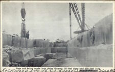 Russellville Alabama AL Aday Quarry Rockwood Stone Co c1920 Postcard