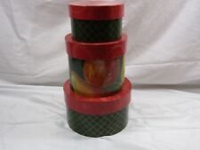 Decorative Round Box Nested Gift Set Elegant Birthday Showers Anniversary