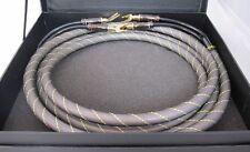 Paar (2x) 3 m High-End Lautsprecherkabel-Set Dynavox OFC geschirmt