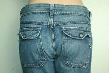 Diesel Jeans Nadar Bootcut Low Rise Medium Wash Flap Pocket tag size 27
