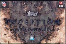2014 Topps Inception Football Hobby Box - Factory Sealed!