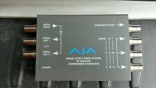 Aja Video D10C2 Component Serial Digital SDI to Analog Composite Converter