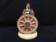 "Vtg Emmitt Kelly Jr 1991 Stanton Arts ""Remember When� 4.5 In Tall Wagon Wheel"