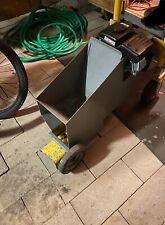 concrete curb machine