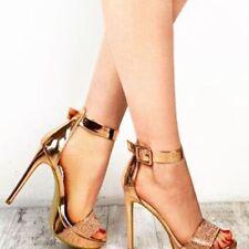 Unbranded Suede Stiletto Standard Width (B) Heels for Women