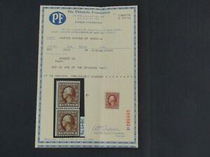 Nystamps US Stamp # 350 Mint OG H $140 PF Certificate j16yo