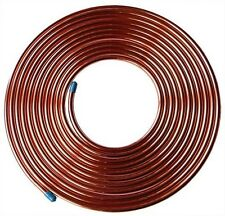 "25ft Fuel Brake Malleable Copper Petrol Pipe Tube 3/16"" OD x 0.131"" ID Car"