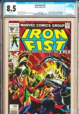 Iron Fist #15 CGC 8.5 WHITE PAGES 1977 Final Issue X-Men Wolverine Vintage Byrne