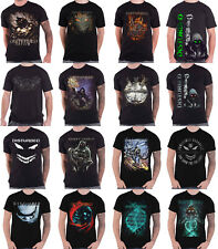 Oficial perturbado Camiseta evolutiva banda logotipo asilo inmortalizado nuevo para hombre