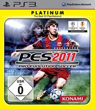 PES 2011 - Pro Evolution Soccer 2011 - Platinum - PS3 - USK 0 - NEUWARE / OVP