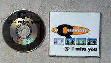 "CD AUDIO INT/ AQUARIAN ""I MISS YOU"" CD MAXI 1995 PANIC RECORDS 577 665-2 4 TRACK"