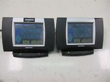 Lot of 2 Crestron ST-DSN Touch Panel Monitors w/ Bases and Power Supplies