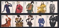 GB mint stamps - 2012 Great British Fashion, SG3309/3318, MNH