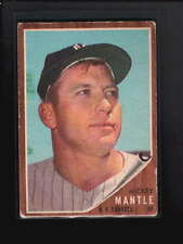 1962 TOPPS #200 MICKEY MANTLE VG D5592