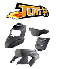 Kit carenage coque Noir mat TUN'R YAMAHA Bw's 2004 Bws