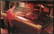 TUCSON AZ Ok Corral Steak House Restaurant Vintage Oklahoma Postcard Old Dining