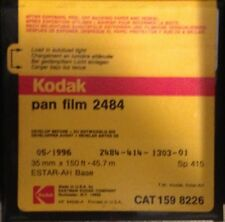KODAK 35mm x 150ft 2484 PAN B&W BULK FILM ROLL! BLACK & WHITE NEW FREEZER KEPT!