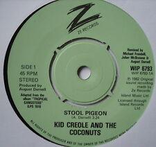 "KID CREOLE & THE COCONUTS - Stool Pigeon - Ex Con 7"" Single Island WIP 6793"