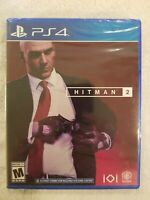 Hitman 2 PS4 (Sony PlayStation 4, 2018) Brand New - Region Free FREE S/H NEW