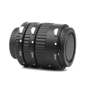 12MM 20MM 36MM Auto Focus Macro Extension Tube Set Adapter Ring for Nikon DSLR