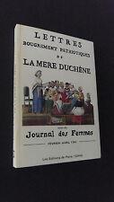 Révolution française Lettres bougrement patriotiques de la mère Duchêne 1791