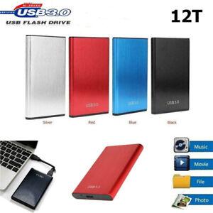 USB 3.1 External SSD Hard Drive Disk High Speed Solid State 4TB 6TB 8TB 12TB