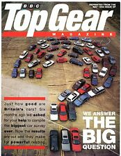 Toyota JD Power Survey 1994 UK Market Sales Brochure Top Gear Corolla MR2 Carina