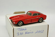 Tameo Kit Monté 1/43 - Ferrari 340 Mexico 1952 Rouge