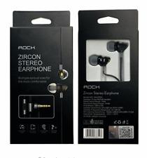 Rock Zircon casque intra auriculaire de qualité avec Micro intégré kit piéton FR
