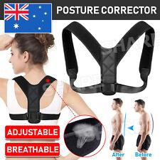 Adjustable Posture Clavicle Support Corrector Back Straight Shoulder Brace Strap